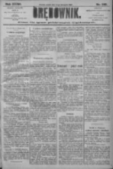 Orędownik: pismo dla spraw politycznych i społecznych 1906.11.16 R.36 Nr262
