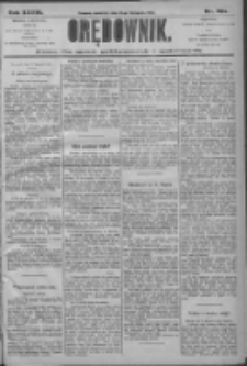Orędownik: pismo dla spraw politycznych i społecznych 1906.11.18 R.36 Nr264