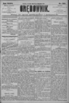 Orędownik: pismo dla spraw politycznych i społecznych 1906.11.25 R.36 Nr269