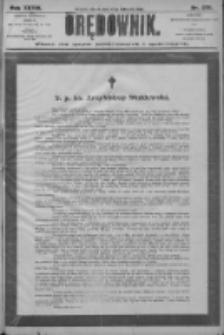 Orędownik: pismo dla spraw politycznych i społecznych 1906.11.27 R.36 Nr270