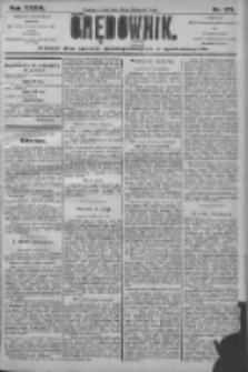 Orędownik: pismo dla spraw politycznych i społecznych 1906.11.28 R.36 Nr271