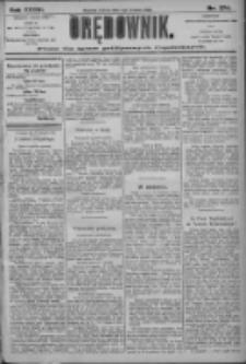Orędownik: pismo dla spraw politycznych i społecznych 1906.12.01 R.36 Nr274