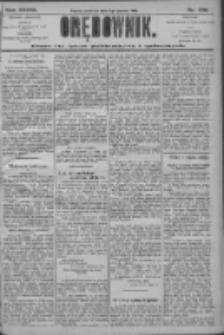 Orędownik: pismo dla spraw politycznych i społecznych 1906.12.02 R.36 Nr275