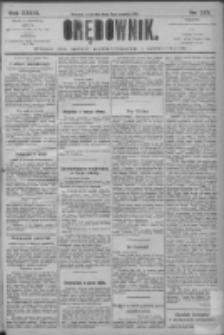Orędownik: pismo dla spraw politycznych i społecznych 1906.12.06 R.36 Nr278