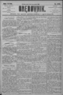 Orędownik: pismo dla spraw politycznych i społecznych 1906.12.07 R.36 Nr279