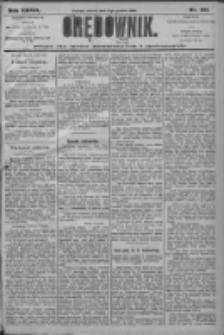 Orędownik: pismo dla spraw politycznych i społecznych 1906.12.11 R.36 Nr281