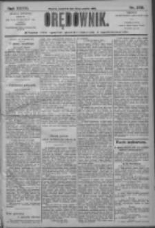 Orędownik: pismo dla spraw politycznych i społecznych 1906.12.20 R.36 Nr289