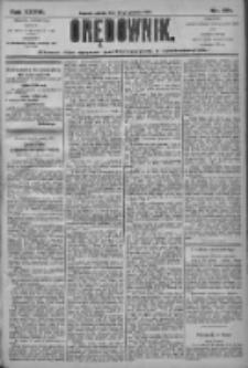 Orędownik: pismo dla spraw politycznych i społecznych 1906.12.22 R.36 Nr291