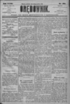 Orędownik: pismo dla spraw politycznych i społecznych 1906.12.23 R.36 Nr292