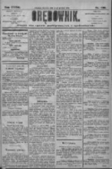 Orędownik: pismo dla spraw politycznych i społecznych 1906.12.30 R.36 Nr296