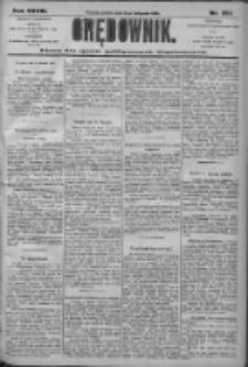 Orędownik: pismo dla spraw politycznych i społecznych 1906.11.10 R.36 Nr257