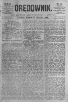 Orędownik: pismo poświęcone sprawom politycznym i spółecznym. 1880.01.27 R.10 nr12