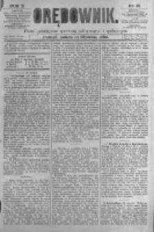 Orędownik: pismo poświęcone sprawom politycznym i spółecznym. 1880.01.31 R.10 nr14