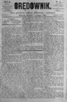 Orędownik: pismo poświęcone sprawom politycznym i spółecznym. 1880.02.03 R.10 nr15