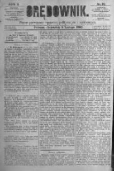 Orędownik: pismo poświęcone sprawom politycznym i spółecznym. 1880.02.05 R.10 nr16