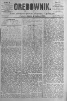 Orędownik: pismo poświęcone sprawom politycznym i spółecznym. 1880.02.07 R.10 nr17
