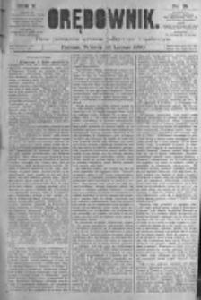 Orędownik: pismo poświęcone sprawom politycznym i spółecznym. 1880.02.10 R.10 nr18