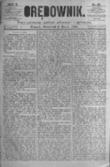 Orędownik: pismo poświęcone sprawom politycznym i spółecznym. 1880.03.11 R.10 nr31
