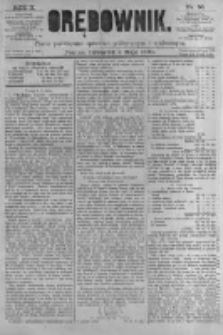Orędownik: pismo poświęcone sprawom politycznym i spółecznym. 1880.05.06 R.10 nr55
