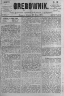 Orędownik: pismo poświęcone sprawom politycznym i spółecznym. 1880.05.29 R.10 nr64