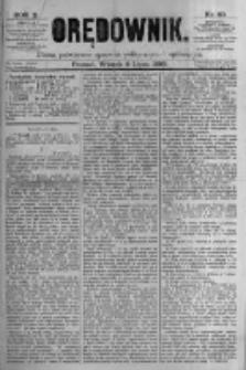 Orędownik: pismo poświęcone sprawom politycznym i spółecznym. 1880.07.06 R.10 nr80
