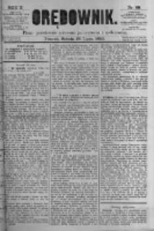 Orędownik: pismo poświęcone sprawom politycznym i spółecznym. 1880.07.24 R.10 nr88