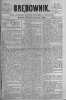 Orędownik: pismo poświęcone sprawom politycznym i spółecznym. 1880.08.03 R.10 nr92