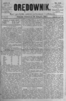 Orędownik: pismo poświęcone sprawom politycznym i spółecznym. 1880.08.26 R.10 nr102