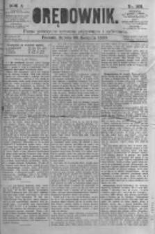 Orędownik: pismo poświęcone sprawom politycznym i spółecznym. 1880.08.28 R.10 nr103