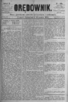 Orędownik: pismo poświęcone sprawom politycznym i spółecznym. 1880.09.02 R.10 nr105