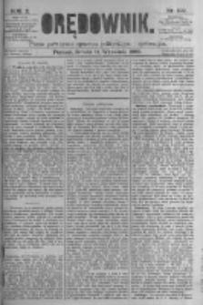 Orędownik: pismo poświęcone sprawom politycznym i spółecznym. 1880.09.11 R.10 nr109