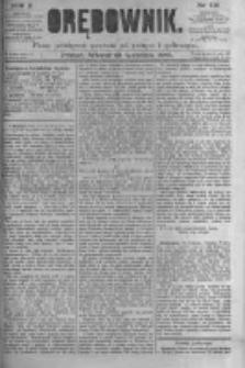 Orędownik: pismo poświęcone sprawom politycznym i spółecznym. 1880.09.28 R.10 nr116