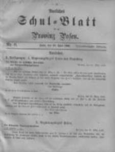 Amtliches Schul-Blatt für die Provinz Posen 1900.04.20 Jg.33 Nr8