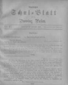 Amtliches Schul-Blatt für die Provinz Posen 1904.09.20 Jg.37 Nr18