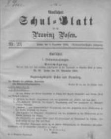Amtliches Schul-Blatt für die Provinz Posen 1904.12.05 Jg.37 Nr23