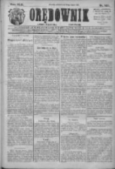 Orędownik: najstarsze ludowe pismo narodowe i katolickie w Wielkopolsce 1912.07.20 R.42 Nr163