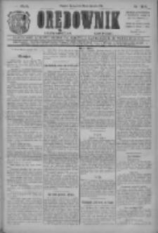 Orędownik: najstarsze ludowe pismo narodowe i katolickie w Wielkopolsce 1912.08.14 R.42 Nr184
