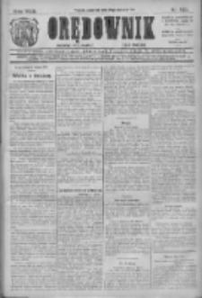 Orędownik: najstarsze ludowe pismo narodowe i katolickie w Wielkopolsce 1912.08.15 R.42 Nr185