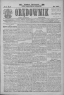 Orędownik: najstarsze ludowe pismo narodowe i katolickie w Wielkopolsce 1912.09.08 R.42 Nr205