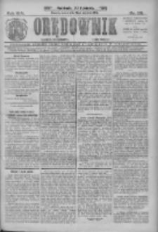 Orędownik: najstarsze ludowe pismo narodowe i katolickie w Wielkopolsce 1912.09.21 R.42 Nr216