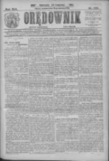 Orędownik: najstarsze ludowe pismo narodowe i katolickie w Wielkopolsce 1912.09.26 R.42 Nr220