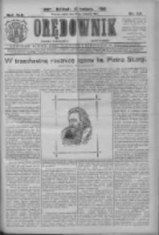 Orędownik: najstarsze ludowe pismo narodowe i katolickie w Wielkopolsce 1912.09.27 R.42 Nr221