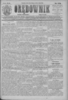 Orędownik: najstarsze ludowe pismo narodowe i katolickie w Wielkopolsce 1912.10.23 R.42 Nr243