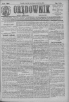 Orędownik: najstarsze ludowe pismo narodowe i katolickie w Wielkopolsce 1912.10.24 R.42 Nr244