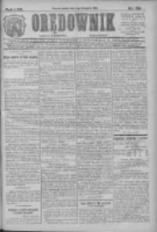 Orędownik: najstarsze ludowe pismo narodowe i katolickie w Wielkopolsce 1912.11.01 R.42 Nr251