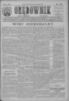 Orędownik: najstarsze ludowe pismo narodowe i katolickie w Wielkopolsce 1912.11.23 R.42 Nr268