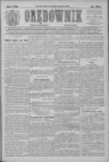 Orędownik: najstarsze ludowe pismo narodowe i katolickie w Wielkopolsce 1912.11.30 R.42 Nr274