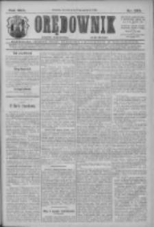 Orędownik: najstarsze ludowe pismo narodowe i katolickie w Wielkopolsce 1912.12.17 R.42 Nr288