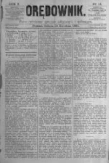 Orędownik: pismo poświęcone sprawom politycznym i spółecznym. 1880.04.10 R.10 nr44
