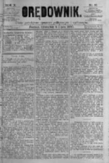 Orędownik: pismo poświęcone sprawom politycznym i spółecznym. 1880.07.08 R.10 nr81